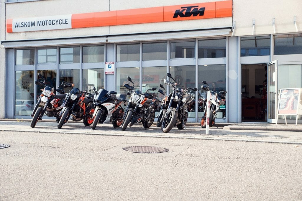 KTM Alskom Motocycle GmbH Shop