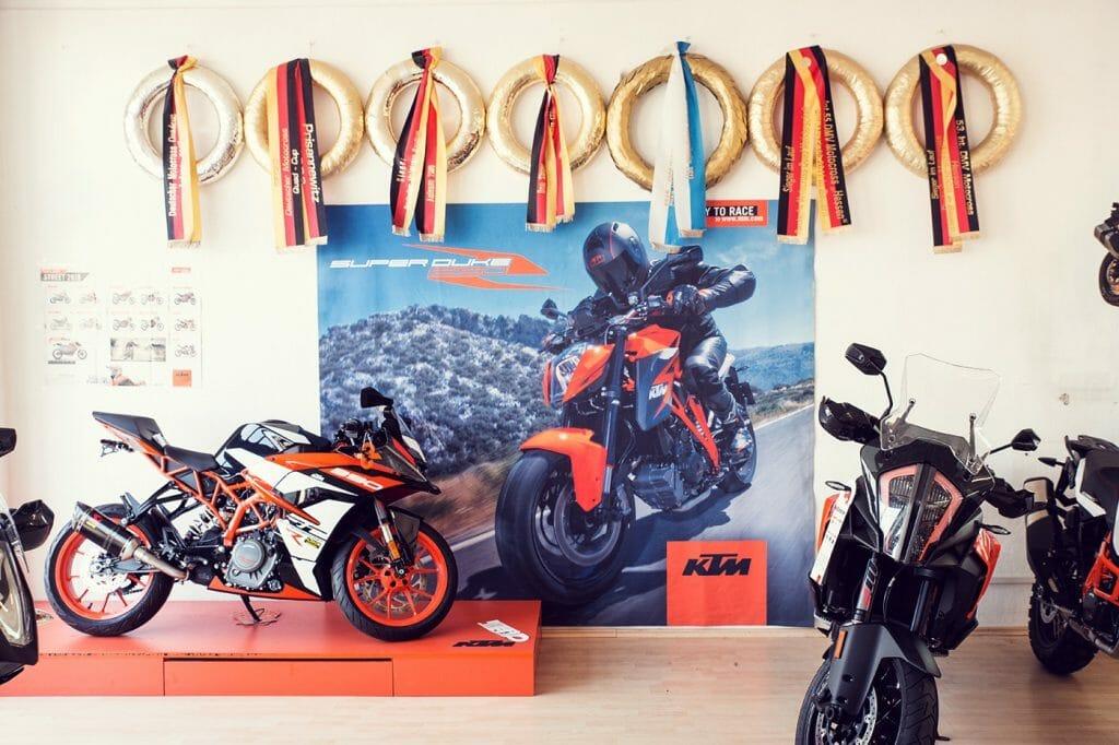 KTM Alskom Motocycle GmbH Verkaufsraum