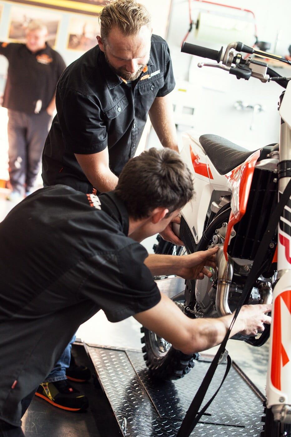 KTM Alskom Motocycle GmbH Werkstatt
